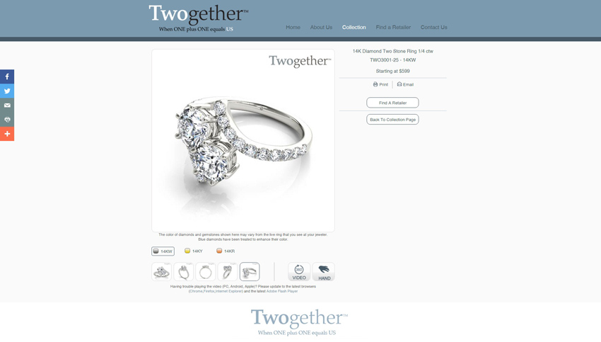 Twogether Product Page