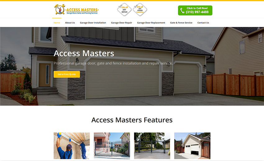 Access Masters Home