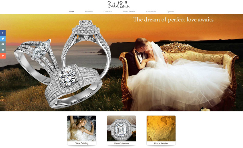 Bridal Bells Home Page