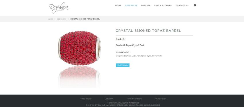 Desphaera Product Page