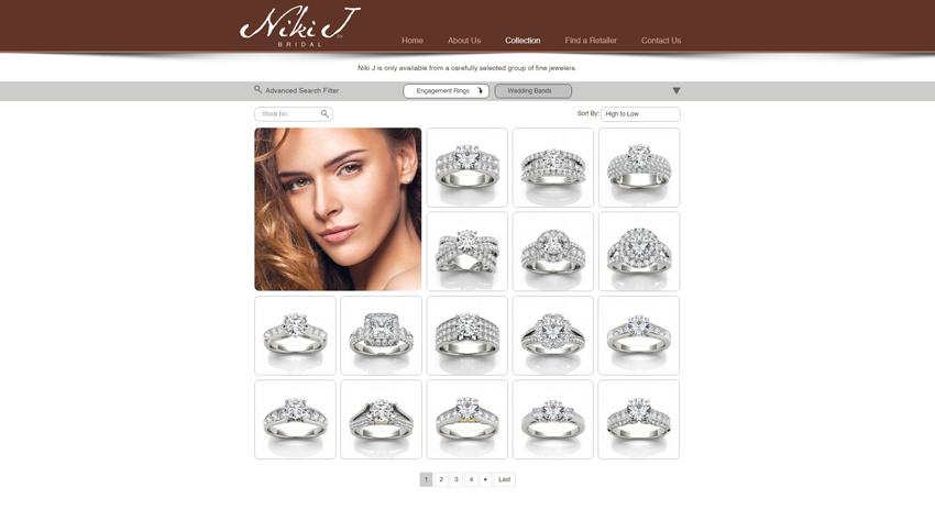 Niki J Shop Page