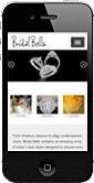 BridalBells Portfolio iPhone Screenshot