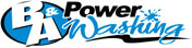 B&A Power Washinge Logo