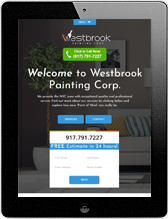Westbrook Painting Portfolio ipad Screenshot